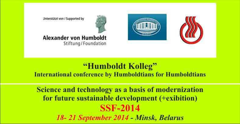 "International conference ""SCIENCE AND TECHNOLOGY AS A BASIS OF MODERNIZATION FOR FUTURE SUSTAINABLE DEVELOPMENT"""