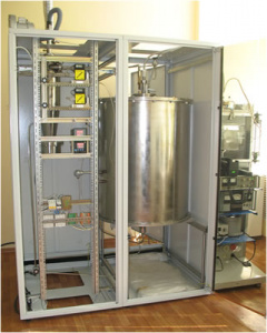 ELECTRIC-THERMAL FLUIDIZED BED REACTOR FOR SILICON CARBIDE PRODUCTION AT A TEMPERATURE UP TO 2000ºС