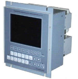 The device for information-measuring distributed control of electric power substations and electric equipment of stations
