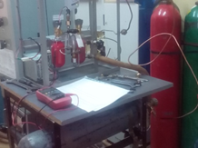 Experimental setup for investigation of sorption characteristics of methane sorbents