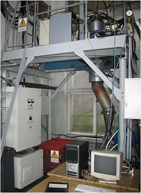 Carbon nanomaterial synthesis installation sc-100