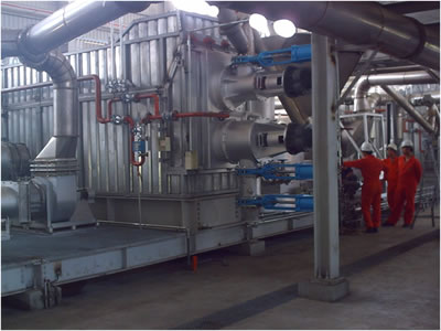 Mechanical rubber waste processing equipment