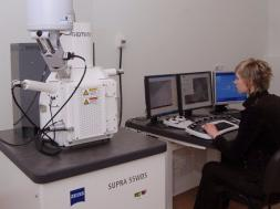 Supra - 55wds scanning electron microscope with inca energy 350 energy dispersive x-ray microanalysis system
